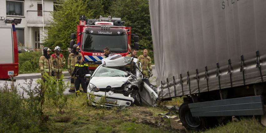 Dode bij ernstig ongeval op N209 in Bergschenhoek