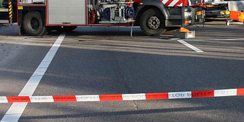 Zes gewonden na verkeersongeval op de N387 nabij Slochteren
