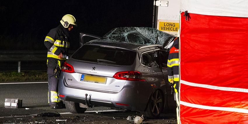 Vrachtwagenchauffeur verdacht na dodelijke aanrijding