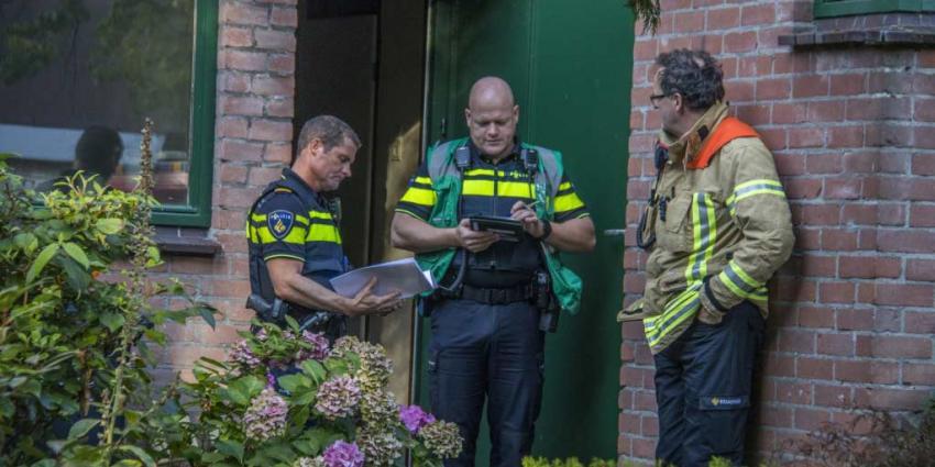 Dode aangetroffen bij brand in Rotterdam