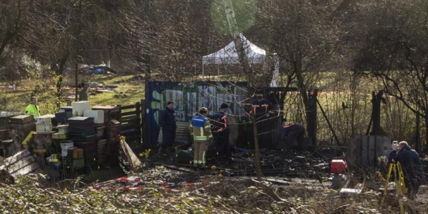 Dode na brand tuinhuisje Rotterdam; gewonde Poolse man aangehouden