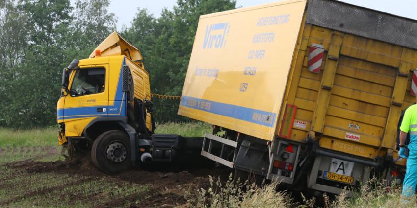 Dode bij ongeluk N34 in Gasselte