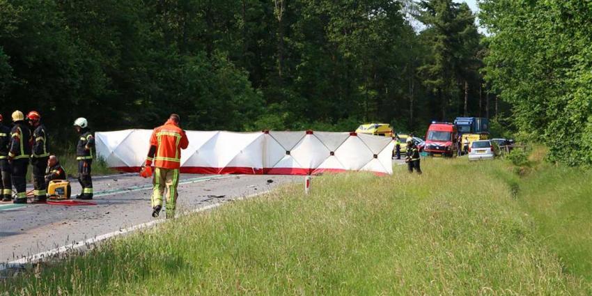 Dodelijk ongeval N34 Odoorn