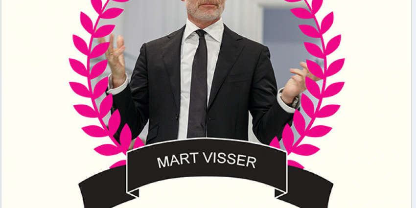 Mart Visser uitgeroepen tot 'Dom Bontje'