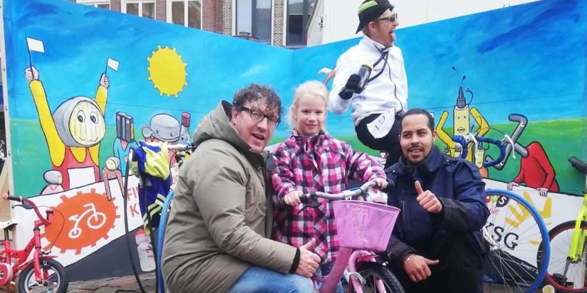 Groningers doneren ruim 300 kinderfietsen
