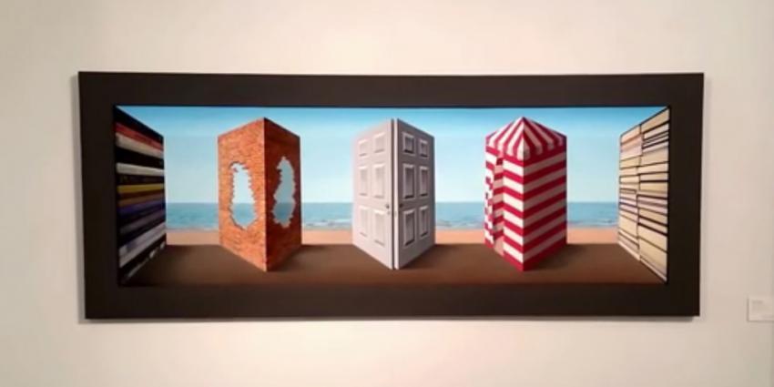Je weet niet wat je ziet met dit 3D-kunstwerk