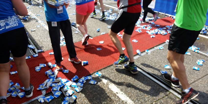 Hardlopers Leiden Marathon bevangen door hitte