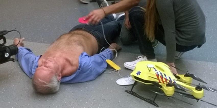 Ambulance-drone TU Delft vergroot overlevingskans bij hartstilstand drastisch