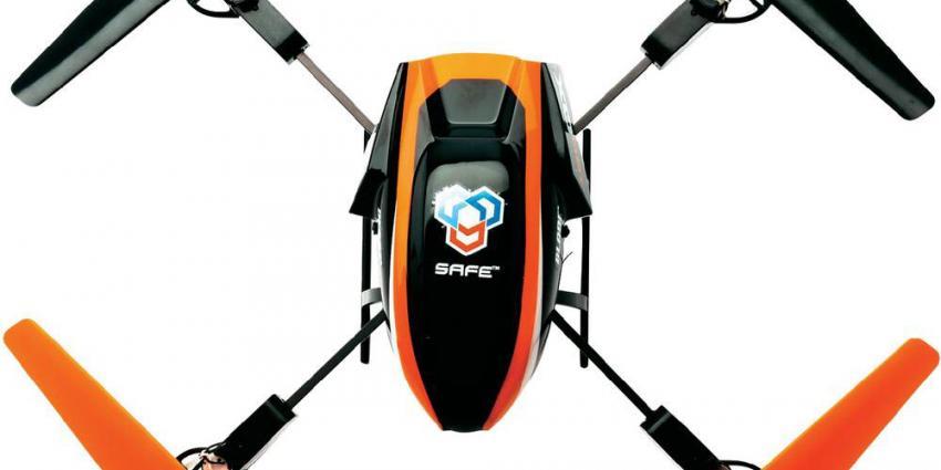 Vliegen met een drone boven bebouwde kom mag niet