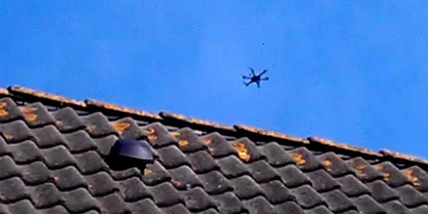 Aangesproken drone-vlieger geeft klager kopstoot