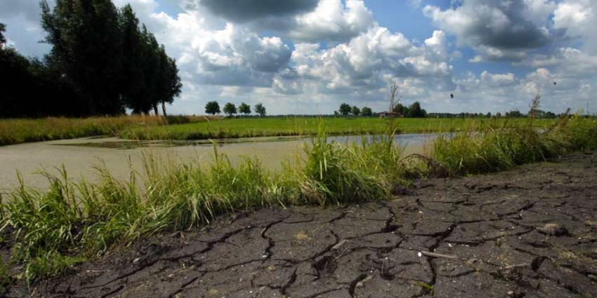 Neerslag blijft uit, gevolgen van droogte zichtbaarder