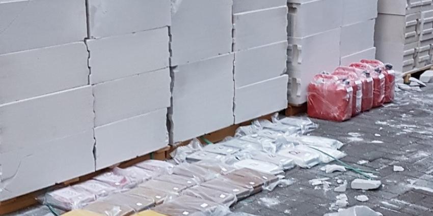 Internationale samenwerking leidt tot grote drugsvangst