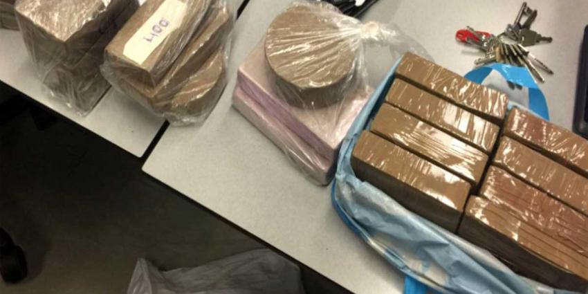 Oogst van politieactie: vuurwapen, kilo's harddrugs en 8 verdachten