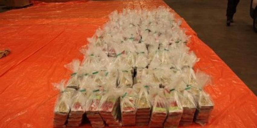 1100 kilo drugs onderschept in lading ananassap