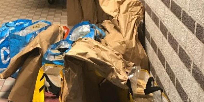 Politie Rotterdam-Stad onderschept 600 kilo's harddrugs