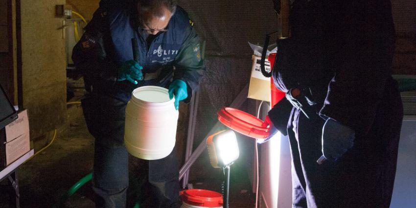 Politie rolt drugslab op in Milsbeek