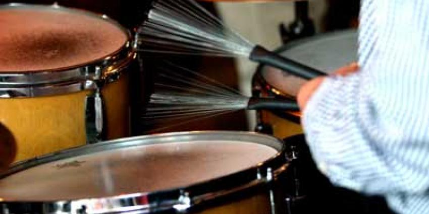 Foto van drumstel jazz muziek   Archief EHF