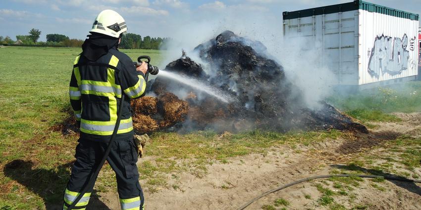Brand bij Activiteitenboerderij 't Dommeltje in Boxtel aangestoken