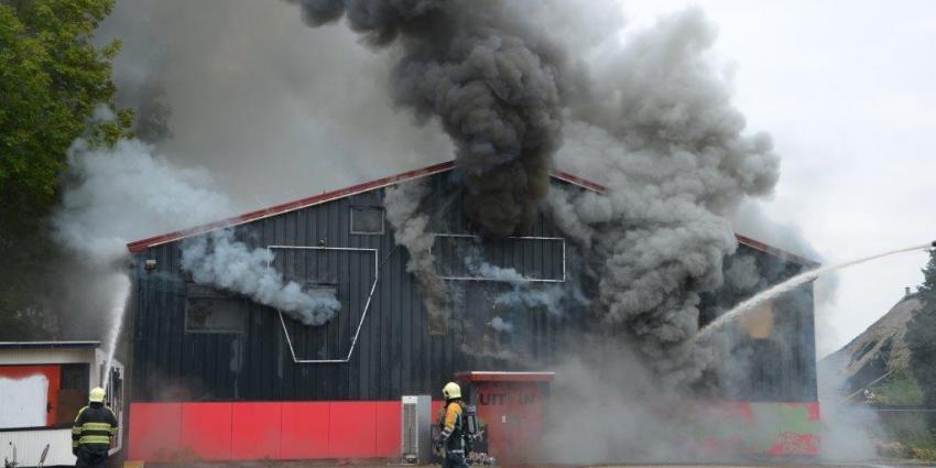 Grote brand in Harkstede