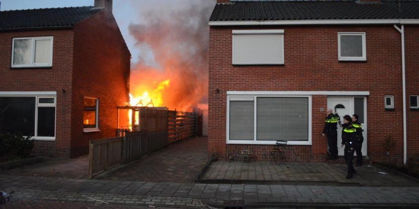 Uitslaande woningbrand aan de Heemskerkstraat in Veendam