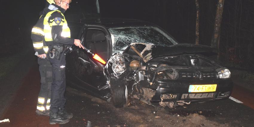 Drie gewonden bij verkeersongeval