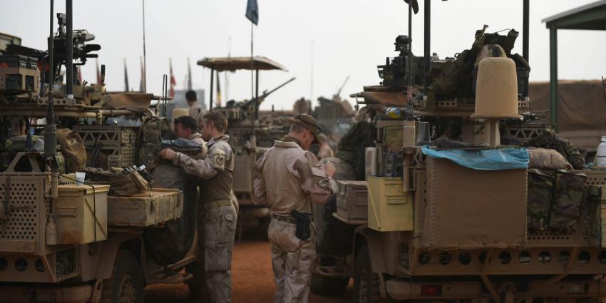Taakgroep Desert Falcon in Mali neemt taken over