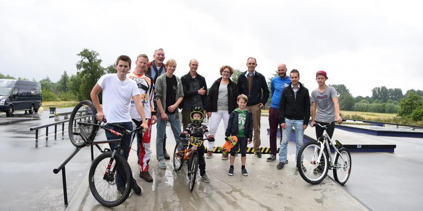 Plek voor skaters, skeelers en BMX-ers in Utrecht