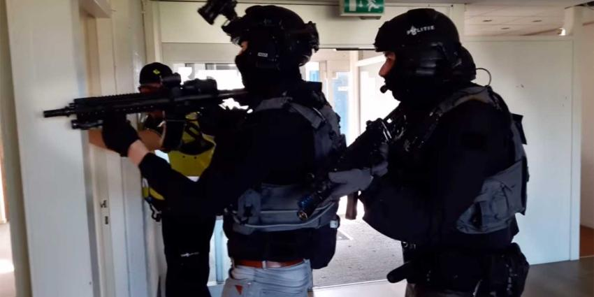Vier terrorisme verdachten aangehouden in Rotterdam
