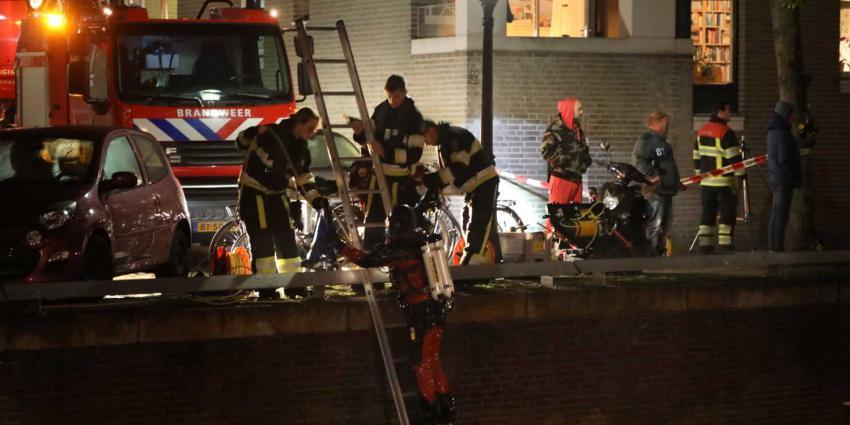 Hulpdiensten rukken uit voor persoon te water in Den Bosch