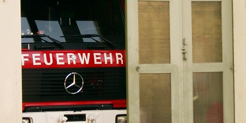 Grote brand in vluchtelingenopvang Düsseldorf