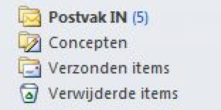 Foto van postvak in e-mail | MV