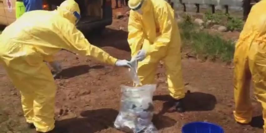 Groot gebrek aan begravenisteams ebola-gebieden