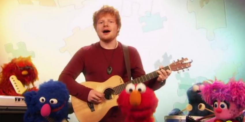 Oude 'hit' Ed Sheeran en de Muppets uit 2013 gaat nu hard op YouTube