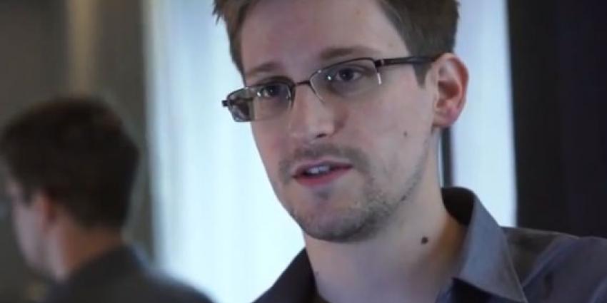foto van Edward Snowden