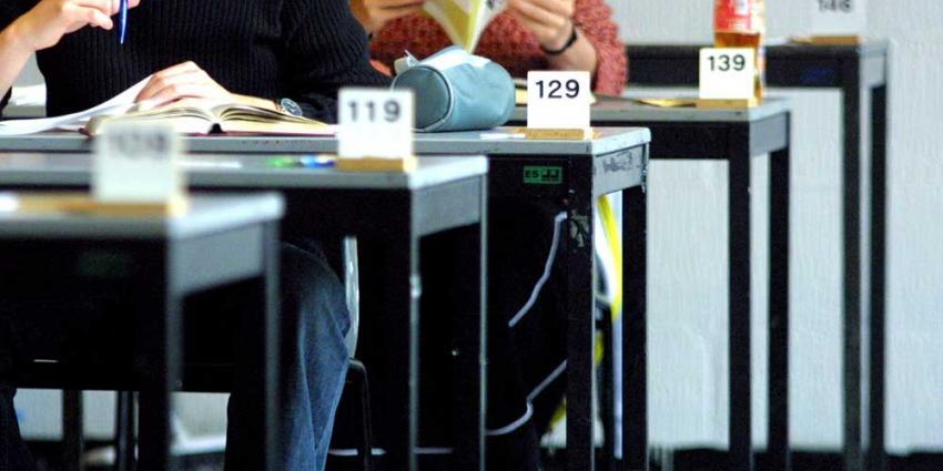 Foto van eindexamen HAVO VWO | Archief EHF