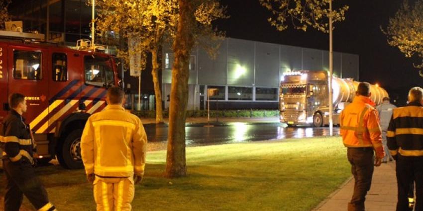 Chaos in Eindhoven door lekkende tankwagen