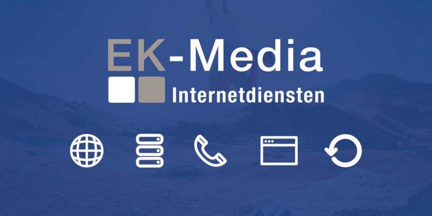 Ruime professionele ervaring en aanbod van internetdiensten bij EK-Media