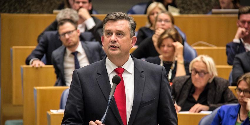 SP-leider Emile Roemer roept partijen op om VVD 'links' te laten liggen