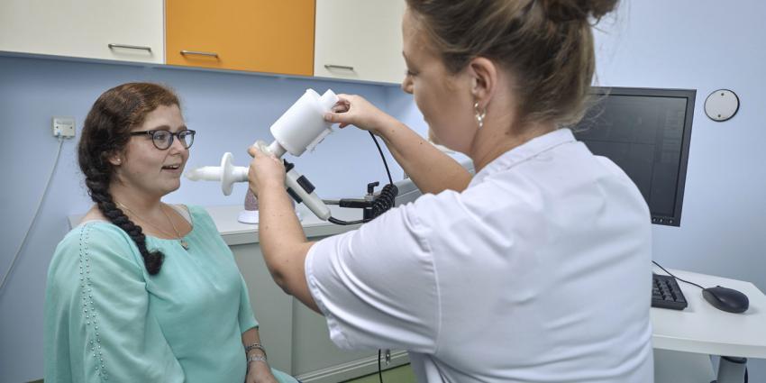 E-nose die longziekten ruikt komt naar spreekkamer