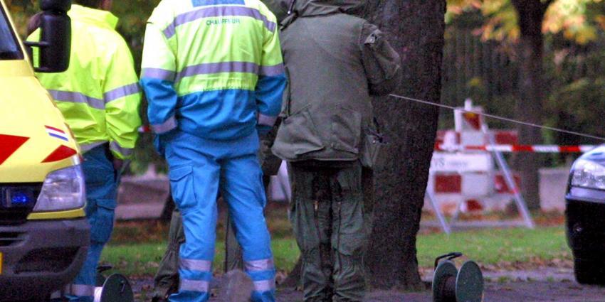 EOD ruimt in Breda aangetroffen explosief, man (49) aangehouden