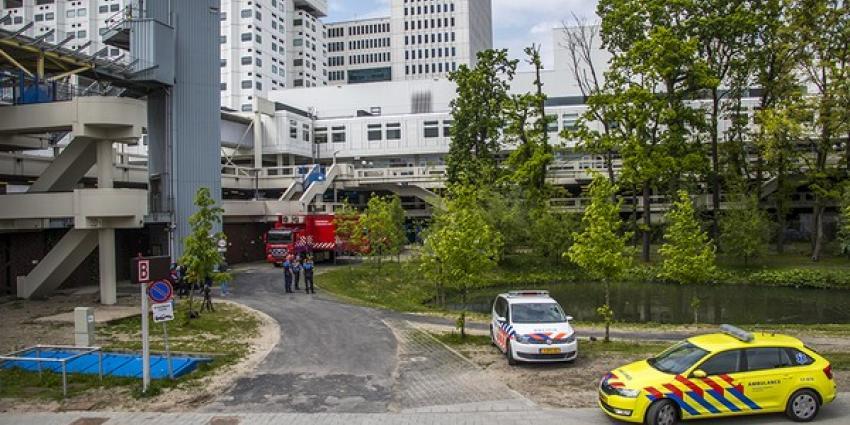 Erasmus MC deels ontruimd vanwege chemische lucht