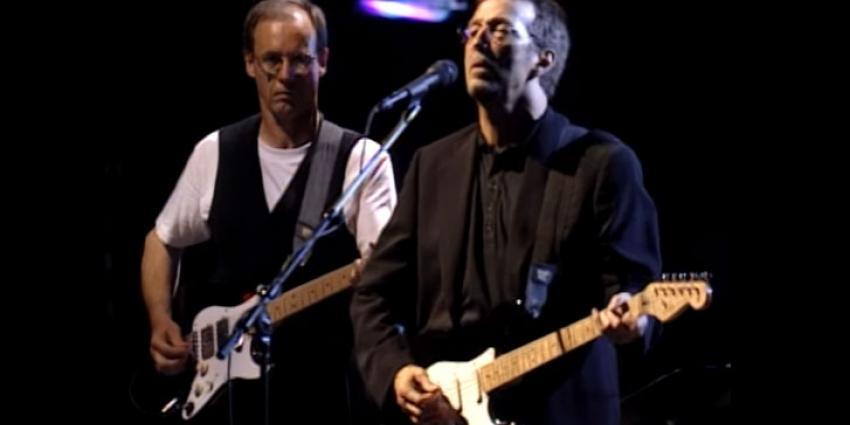 Eric Clapton heeft moeite met gitaar spelen door zenuwbeschadiging