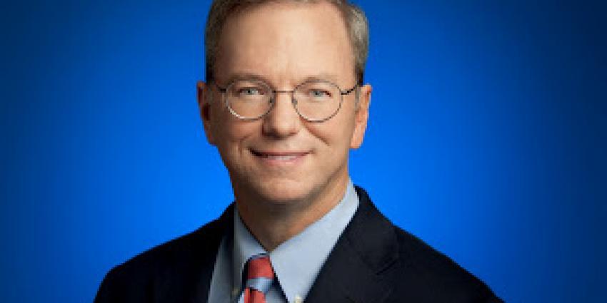 Foto van Google topman Eric Schmidt | Google