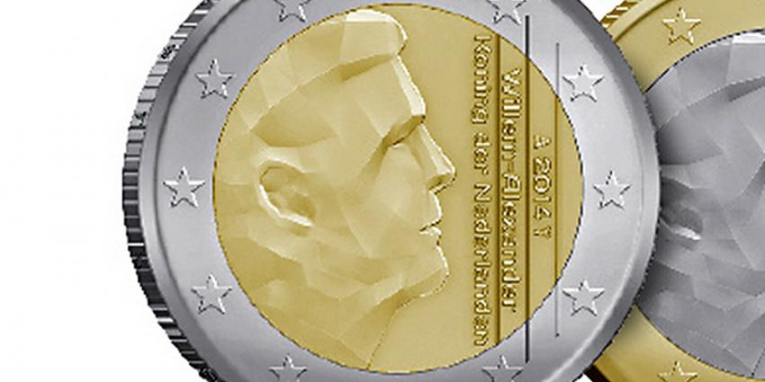 Foto van euro munt koning Willem-Alexander | Rijksmunt