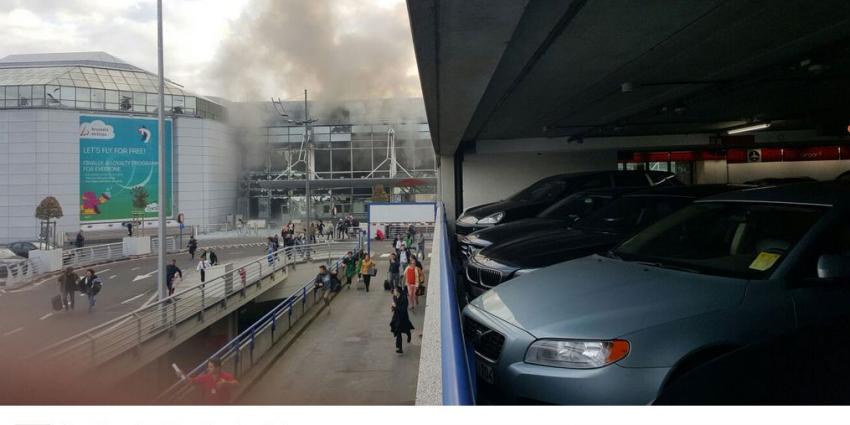 Explosies luchthaven van Zaventem in Brussel