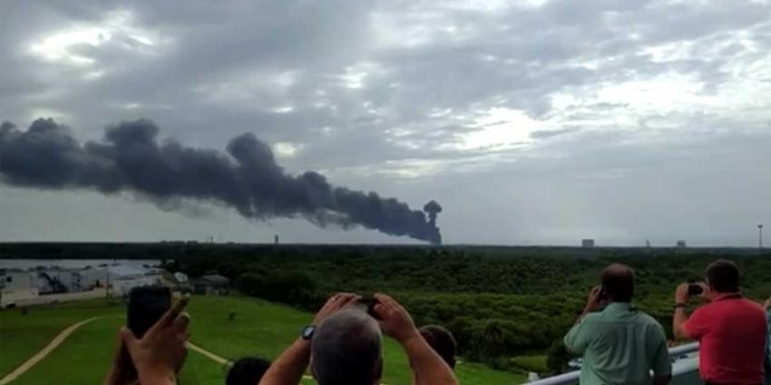 Raket SpaceX ontploft op Cape Canaveral