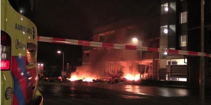 Deel appartementencomplex Drachten ingestort na zware explosie