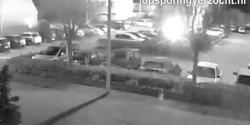 Camerbeelden vrijgegeven explosie busje lichaam Nabil Amzieb