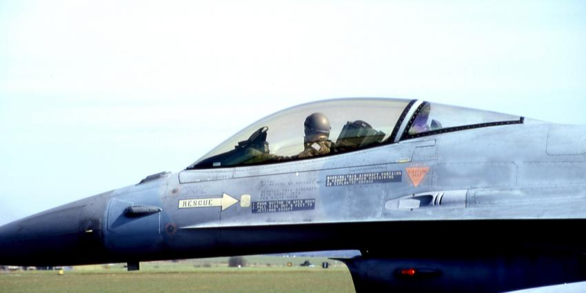 Nederlandse F-16 gooien eerste bommen in Syrië