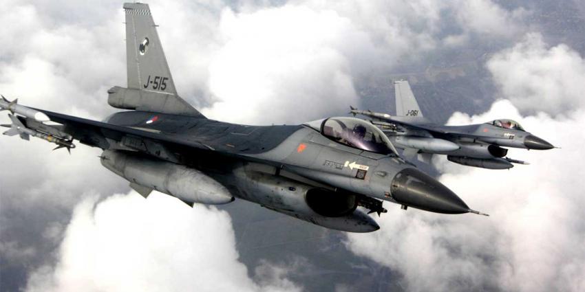F-16's luchtmacht vliegen op biobrandstof